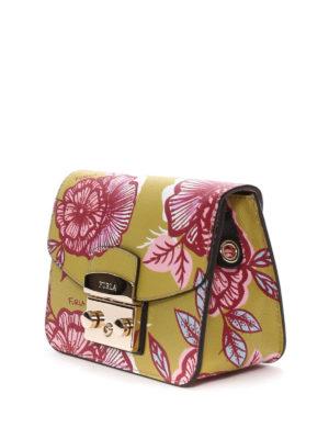 Furla: cross body bags online - Metropolis floral print crossbody