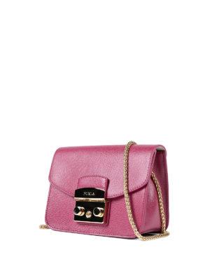 Furla: cross body bags online - Metropolis fuchsia mini bag
