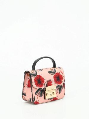 Furla: cross body bags online - Metropolis mini poppy print bag