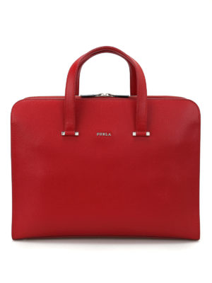 Furla: laptop bags & briefcases - Man Vulcano bag