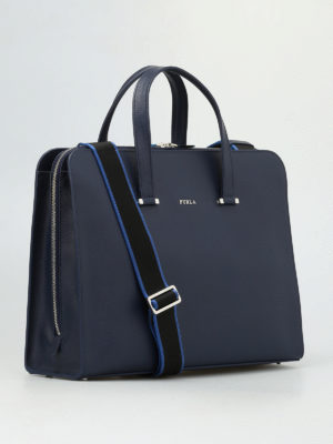 Furla: laptop bags & briefcases online - Man Vulcano bag