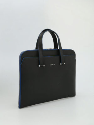 Furla: laptop bags & briefcases online - Man Vulcano briefcase