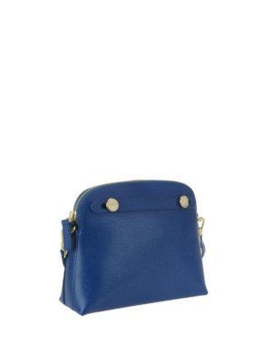FURLA: pochette online - Pochette Piper XL blu pavone
