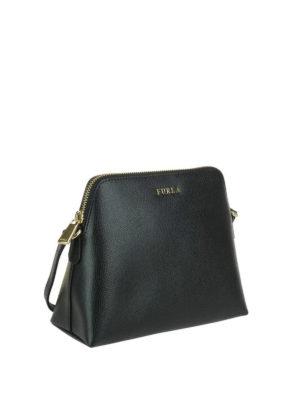 FURLA: borse a tracolla online - Tracolla nera Boheme XL