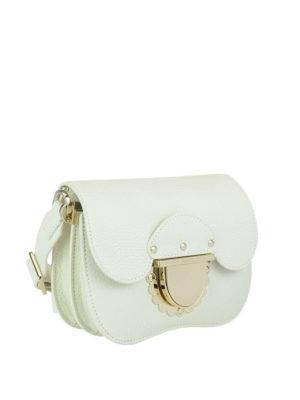FURLA: borse a tracolla online - Tracolla Ducale mini in pelle blu