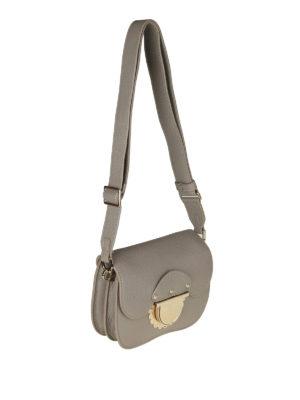 FURLA: borse a tracolla online - Borsa Ducale Mini in pelle sabbia