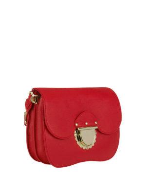 FURLA: borse a tracolla online - Piccola tracolla Ducale rossa