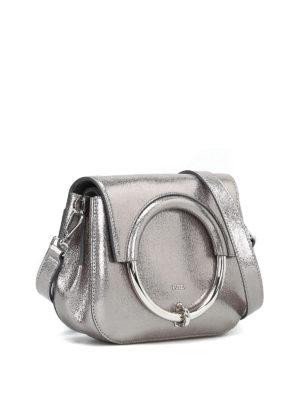 FURLA: borse a tracolla online - Borsa Margherita Mini metallizzata