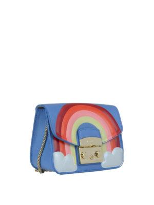 FURLA: borse a tracolla online - Mini Metropolis Fantasia arcobaleno