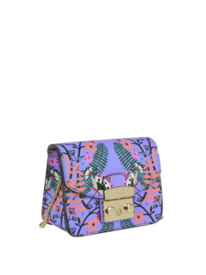 FURLA: borse a tracolla online - Mini borsa Metropolis color lavanda