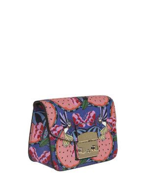 FURLA: borse a tracolla online - Tracolla Metropolis mini stampata