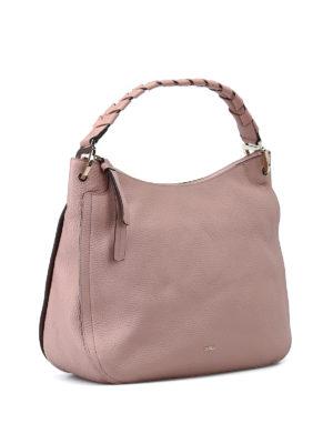 FURLA: borse a spalla online - Borsa a spalla Rialto rosa cipria