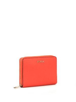 FURLA: portafogli online - Portafoglio rosso Babylon XL