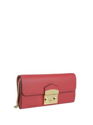 FURLA: portafogli online - Portafoglio Metropolis XL ruby