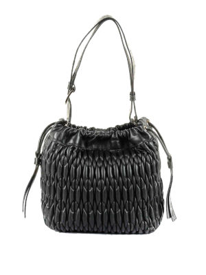Furla: shoulder bags - Caos S quilted leather shoulder bag