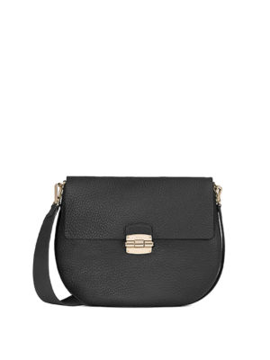 Furla: shoulder bags - Club grainy leather shoulder bag