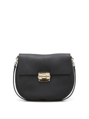 Furla: shoulder bags - Club S leather shoulder bag