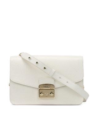 Furla: shoulder bags - Metropolis leather shoulder bag