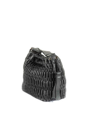 Furla: shoulder bags online - Caos S quilted leather shoulder bag