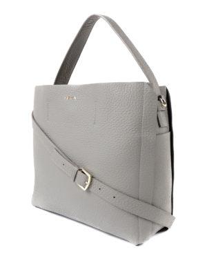 Furla: shoulder bags online - Capriccio light grey medium bag