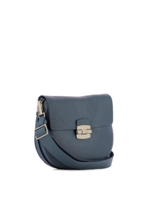 Furla: shoulder bags online - Club grainy leather saddle bag