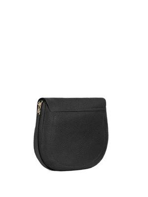 Furla: shoulder bags online - Club grainy leather shoulder bag