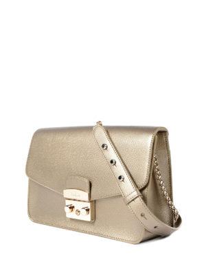 Furla: shoulder bags online - Metropolis bronze small bag