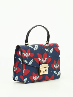 Furla: shoulder bags online - Metropolis gardenia patterned bag