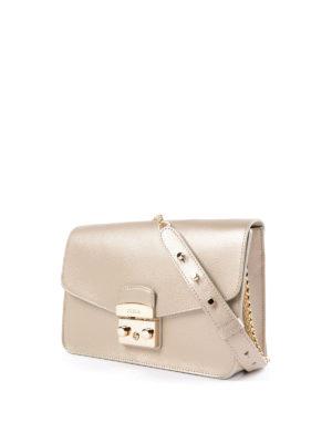 Furla: shoulder bags online - Metropolis metallic shoulder bag