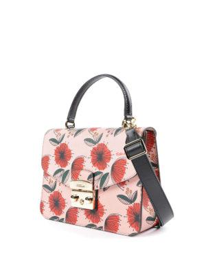 Furla: shoulder bags online - Metropolis poppy patterned bag