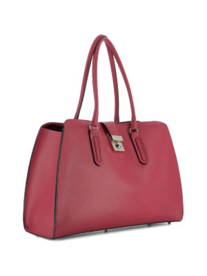 Furla: shoulder bags online - Milano smooth leather satchel