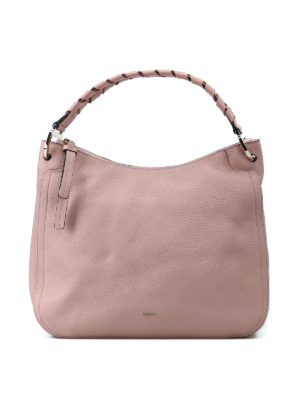FURLA: borse a spalla - Borsa a spalla Rialto rosa cipria