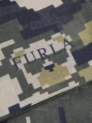 Furla: Stoles & Shawls online - Fenice modal and silk squared shawl