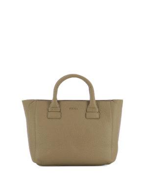 Furla: totes bags - Capriccio dark beige small tote