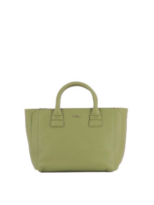 Furla: totes bags - Capriccio green leather small tote