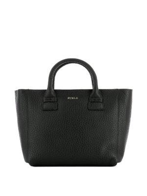 Furla: totes bags - Capriccio small black shopping bag