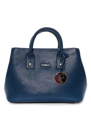 Furla: totes bags - Linda Saffiano leather mini bag