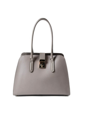 Furla: totes bags - Milano M coated leather handbag