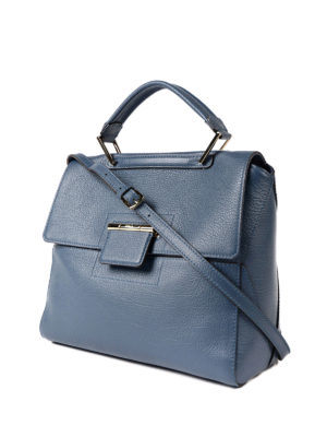 Furla: totes bags online - Artesia blue leather bag