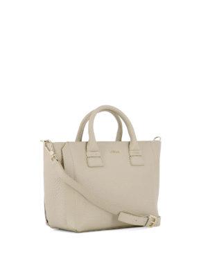 Furla: totes bags online - Capriccio beige leather small tote