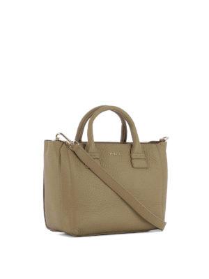 Furla: totes bags online - Capriccio dark beige small tote