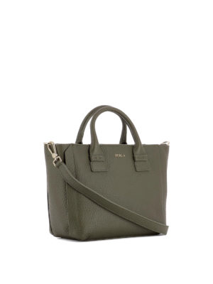 Furla: totes bags online - Capriccio grainy leather small bag
