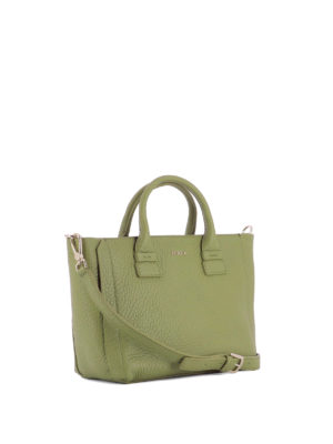Furla: totes bags online - Capriccio green leather small tote
