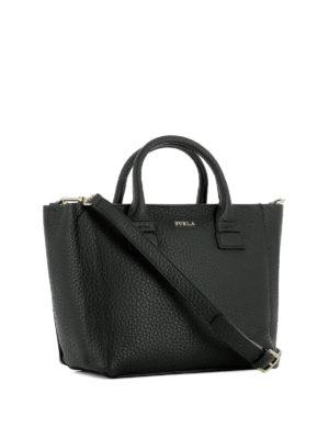 Furla: totes bags online - Capriccio small black shopping bag