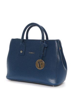 Furla: totes bags online - Linda Saffiano leather mini bag