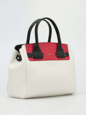 Furla: totes bags online - Lucky leather tote