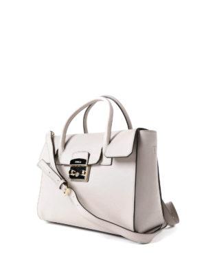 Furla: totes bags online - Metropolis M beige leather bag