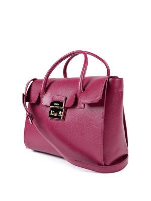 Furla: totes bags online - Metropolis M leather tote