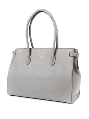 Furla: totes bags online - Pin M leather tote