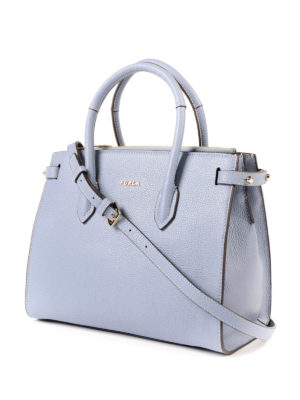 Furla: totes bags online - Pin S leather tote